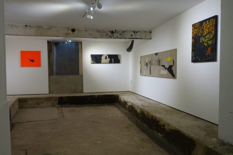 Quarry exhibition: works of art installed in the Brocket Gallery, London